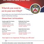 """Pls Share""""@TPSBoard: Police Board Begins Consultations on Selecting New Chief http://t.co/MZn23xLVFH http://t.co/Hui9VimTet""""#Toronto"""