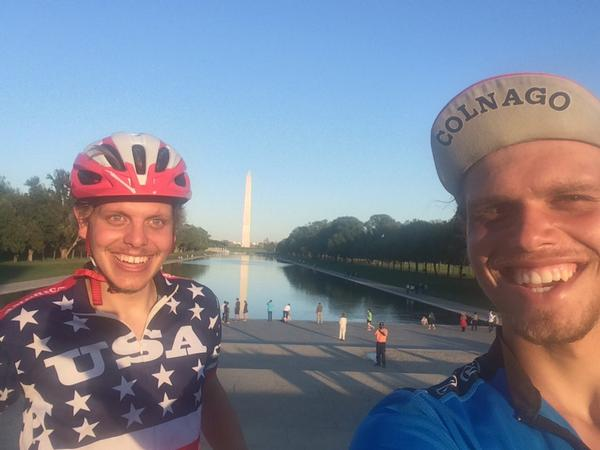 Over 4k miles & 45 days in support of #NoKidHungry~brothers Jon & Chris arrive in DC! RT @NKHcoast2coast: We made it! http://t.co/OFNQo8O9Hu