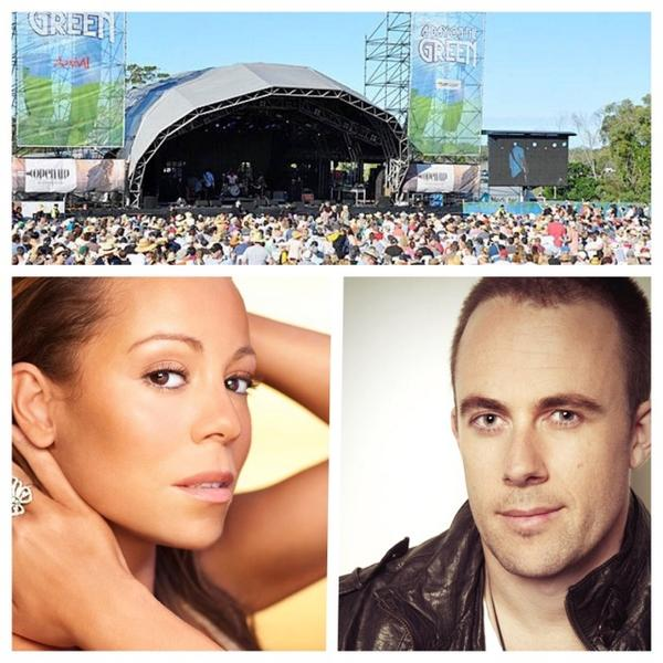 Still can't wipe the smile off my face. Dream come true supporting @MariahCarey next month for A Day On The Green http://t.co/jG9O8pn749