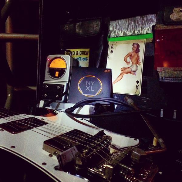 Rock on \m/ @DaddarioandCo @musicalexpress #NYXL @gibsonguitar @STETSBAR http://t.co/cebCIn5GG1