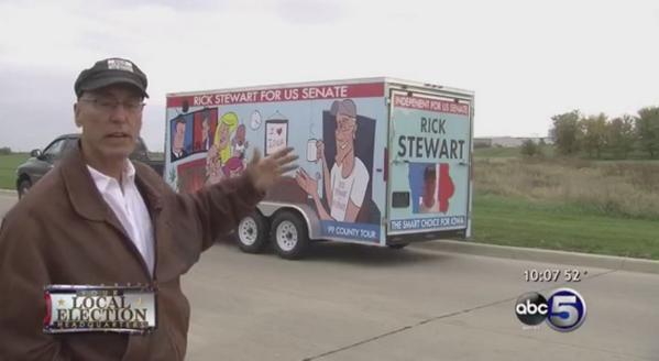 Independent Candidate @RickStewart Could Tilt #Iowa Senate Race. http://t.co/8OpPIYZLKn #Election2014 http://t.co/JcMOWhf6Qc
