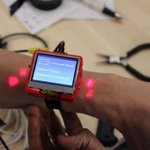 This smartwatch projects buttons onto your skin http://t.co/zIyrLdaWVg http://t.co/Gb78aucUau
