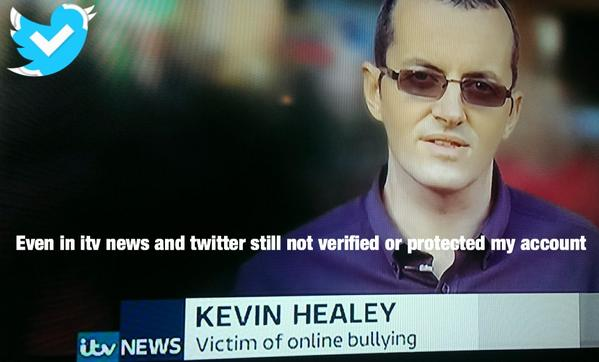 Even in itv news and twitter still not verified or protected my account http://t.co/gVV8S6dBH2