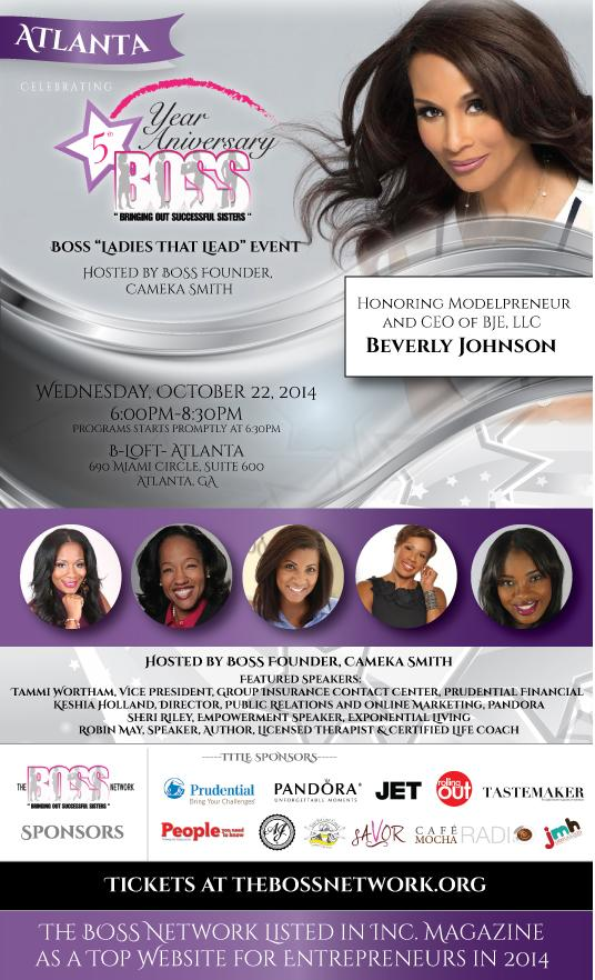 The BOSS Network: Atlanta Event @iamcameka @shanaknowsbest @BeverlyJohnson1 http://t.co/yQwhm3s6R9 http://t.co/gcj4P5bKWd