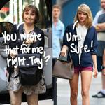 #LenaDunham is already calling dibs on one of #TaylorSwift's newest songs for her wedding! http://t.co/IiSsRaphvq http://t.co/QubUu1PFfJ