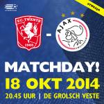 #MATCHDAY!! Vanavond FC Twente - #Ajax! Wat voorspellen jullie? #tweaja