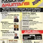 RT @mahasiswamlg: Ayoo buruan daftar SemNas Akuntansi 2014 by @HMJAkt_FEUM ! Only 50K MHS, 55K Umum ! http://t.co/7jfrqhbzbD