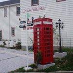 【写真で見る下松市】市内の外れで見つけたお洒落な電話ボックス。まるでジブリ映画の「魔女の宅急便」の世界みたい……と思った
