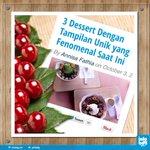 RT @infobdg: Suka yg manis2? Cobain dulu 3 Dessert dgn tampilan unik yg lg nge-hits! http://t.co/JtuwcCZIk2 #infoBDGkuliner http://t.co/SQdc3nB1gu