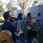 RT @ShadowsOnBlue: #Alicesprings @ShadowsOnBlue about to hit the stage! #ASMG2014 Closing ceremony http://t.co/0jQiyDx3yM