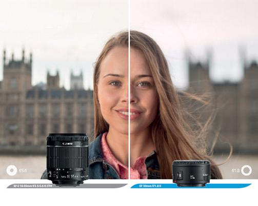 RT @CanonUKandIE: See the difference an aperture can have on your photos. This shot compares f/5.6 and f/1.8. http://t.co/KEKFAL7637