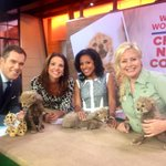 Cuteness overload this morning in Studio 1A!