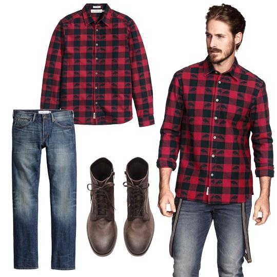 Guys Fashion Comfort Collide With A Plaid Flannel Shirt
