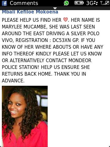PLEASE HELP US FIND HER ☹ http://t.co/bCRDZzzegQ