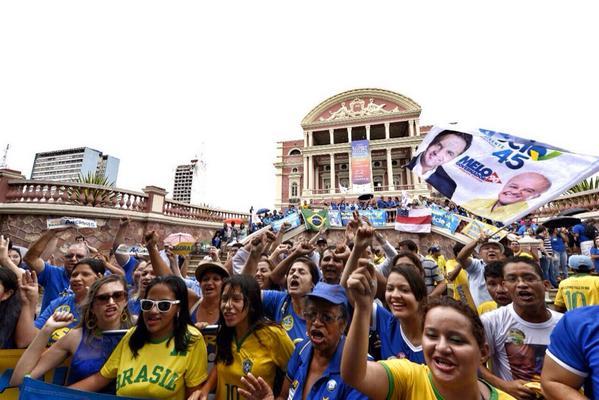 Manaus já entendeu que a mudança é necessária. #MudaBrasil #EuSouAecio45 http://t.co/26DdMj2Yie