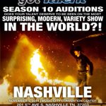 .@NBCAGT is coming to Nashville! Audition for Season 10 on November 5th at Music City Center!