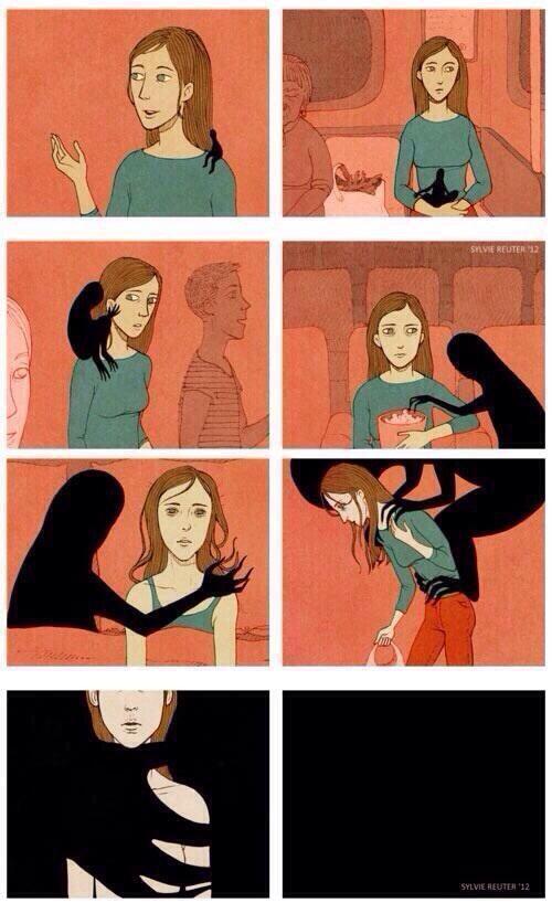 What does depression feel like: http://t.co/mTWyLJVMHL