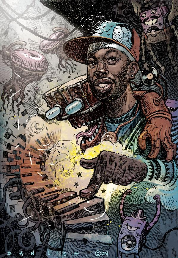 J Dilla full colour workout! @OfficialJDilla1 @ArtForJDilla @RedditHHH @egotripland @robertglasper @QtipTheAbstract http://t.co/bWuRms68EW