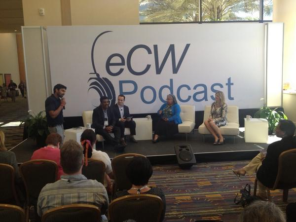 #eClinicalWorks podcast at #NUC2014 with Girish http://t.co/CHBQQtp2we