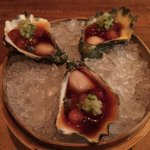 Oops. The restaurant from last night's handle is actually @oyaboston. Worth another tweet. And pic! Kumamoto oysters: