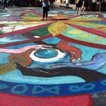 The weather is perfect 4 Ojai Day. The annual mandala @Signal St & Ojai Ave. http://t.co/Iurvws7mWy
