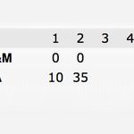 RT @SportsNation: ICYMI: Alabama up HUGE on Texas A&M at half... http://t.co/JMB3sSCnvb