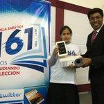 Promesa cumplida 1er, 2do y 3er puesto recibieron sus premios en el concurso #YoEstudioMiLeccion #6MetasUPN http://t.co/L5nsr0VPLb