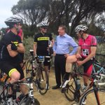 RT @Vic_Premier: Well done to all involved in #aroundthebay. Great effort. @bicycle_network http://t.co/Ri1mKRfksv