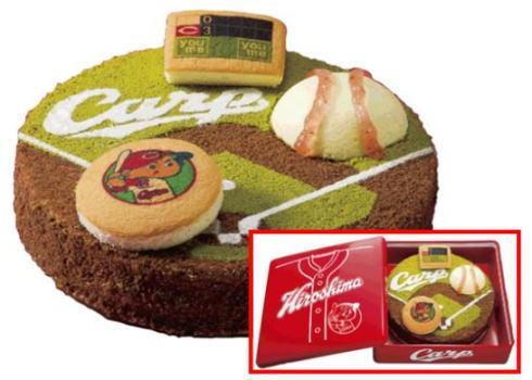 わぁー!ほしい(*´∇`*)ノ RT @mika_red: カープ クリスマスケーキですと!? イズミ・ゆめタウンで予約開始 http://t.co/uQ0J3aC3pg http://t.co/PcfaXIjsWS