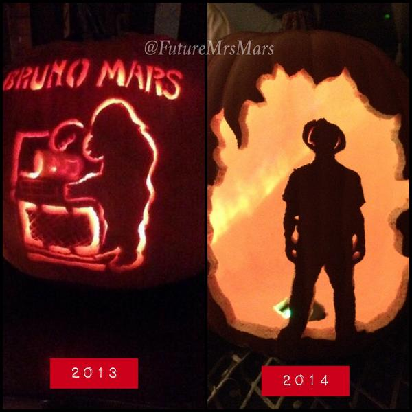 My 2013 & 2014 #BrunoMars #Pumpkin ...
