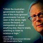 Intetnationally this is what even conservative politicians think of you @TonyAbbottMHR #auspol  #ignorant http://t.co/qHkIIR43KW
