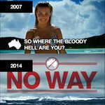 Australias tourism campaigns are getting really dark http://t.co/20Z0yO4K2a