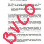 #FMACANARIAS esta circulando esta imagen por wasap. Caso omiso!!!! Se trata de un bulo. #StopBulos http://t.co/1BzEZl47XC