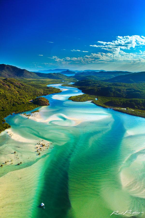 The Hill Inlet, Whitsundays, Queensland:    @Queensland, @WhitsundaysQLD http://t.co/DCGSdpCt7j