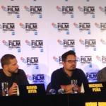 Ayer says he wrote Gordo with Michael Peña in mind #Fury #FuryMovie #LFF2014