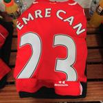 RT @LFC: PHOTO: Emre Cans kit inside the #LFC dressing room ahead of the midfielders first start for the club. http://t.co/RtSYlcphDs