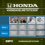 Congrats, Terrell! GO WAVE! #themblankets RT @CollegeGameDay: Here are your Week 8 #HondaHelmetSticker winners: http://t.co/aKfIPbPjRA