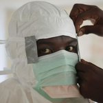 Ebola protocols for treating patients to include protective gear with no skin showing. http://t.co/N4aOP0qrJN http://t.co/swhJRWBS0j