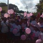 #BolívarRosa en el Día Mundial de la sensibilización contra el cáncer de mamas, impulsando la prevención y autoexamen http://t.co/49uVPcPI93