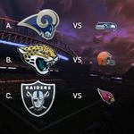 Which team is most likely to cause an upset today?