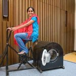 RT @ShirazHassan: Remya Jose, a 14 year old girl from #India invented this pedal operated washing machine. It requires no electricity.
