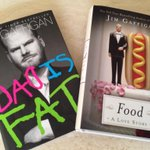 Yes, that's right, I own the entire collected written works of @jimgaffigan.  Jealous?? http://t.co/LF5dJ0m3Lp