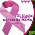 Luchar contra el cáncer de mamas es batallar por la vida.Esta enfermedad puede ser vencida si se diagnostica a tiempo http://t.co/SxuG6mg1oN