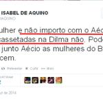 Twitter / @stanleyburburin: Eleitora de #aecio45 incen ...