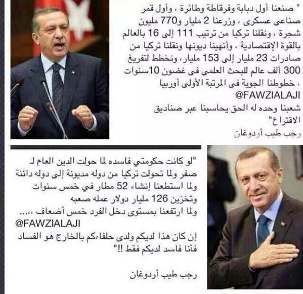 RT @mohdgnibi: إنجازات أردوغان تفوق الدول العربيه مجتمعه فماذا فعل حكام العرب لشعوبهم غير القهر والكبت http://t.co/0yC2a5pWGH