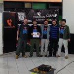 Ganadores equipo @everis #Hackatón 24h #Temuco @Microsoft @Corfo @TeodoroWickel @hacelera http://t.co/YEARDVfGhY
