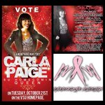 """RT @RodRantsTV: RT""""@_carlapaige: Carla Paige for Homecoming Queen 2014. Lets turn #ANewPaige #MammogramMission #ANewPaigeInHistory http://t.co/IpcL3MlpBw"""""""