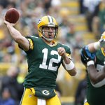 RT @ESPNNFL: Reminder, Aaron Rodgers has thrown ONE interception this season. ONE http://t.co/w0MnaWDuPa