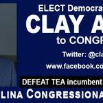 RT @TNTweetersNC: ELECT (D) nominee Clay Aiken @clayaiken 2 #Congress #NC2 DEFEAT TEA Renee Ellmers! #TNTweeters #Red2Blue http://t.co/uHs8iIBNM5 #ncpol #GOTV