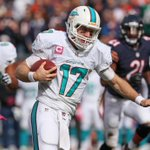 RT @SportsCenter: Dolphins force 3 turnovers as Miami beats Chicago, 27-14. Tannehill: 25-32, 277 Yds, 2 TD, 50 Rush yds http://t.co/gYgkiwwA6i